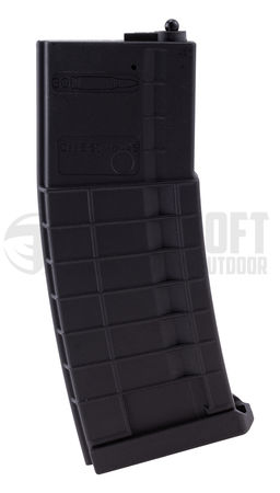 D-Day Polymer Mid-Cap Magazine for HK416 and M4/M16 Series, Black (120/30 Rounds)