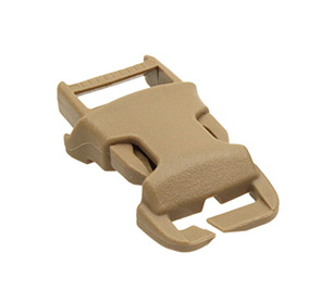Emerson Plastic QASM Buckle 25mm, Tan (1 piece)