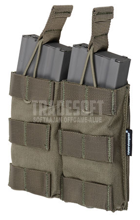 Emerson Open-Top Double Magazine Pouch for Two M4/M16 Mags, Foliage