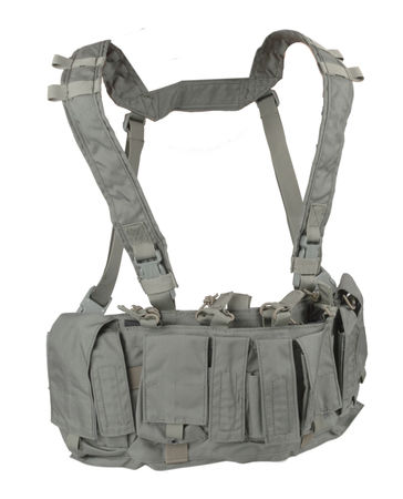 Emerson Chest Rig with Fixed Pouches, Foliage (MF Style UW Tactical Rig)
