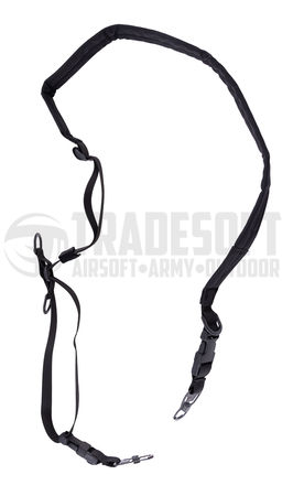 Emerson Padded Quick Adjusting Two Point Sling, Black