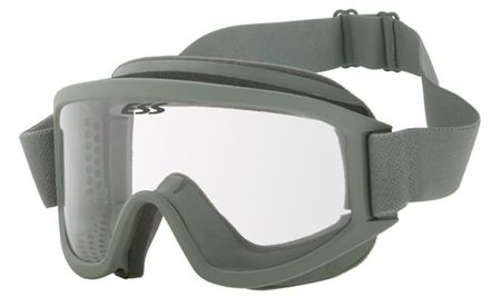 ESS Land Ops™ Safety Goggles with Clear and Dark Lenses, Foliage