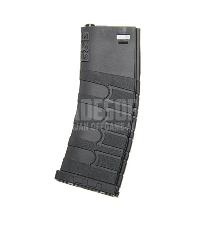G&G Mid-Cap Magazine for M4/M16 Series, Black (120 Rounds)