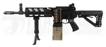 G&G CM16 LMG with ETU and MOSFET Units, Black
