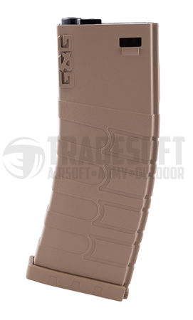 G&G Mid-Cap Magazine for M4/M16 Series, Tan (120 Rounds)