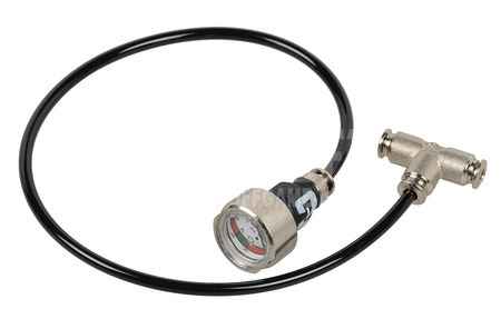 Mancraft External Pressure Gauge for 4mm Line