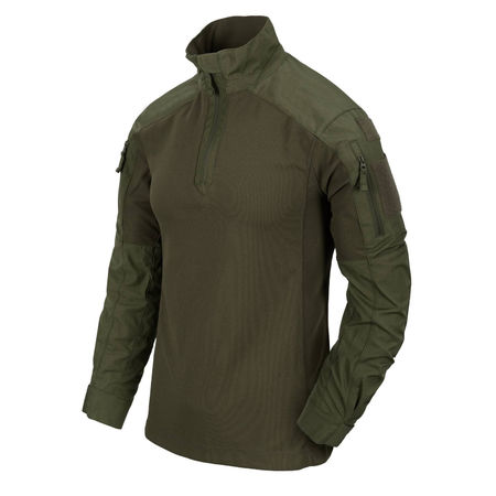 Helikon MCDU Ripstop Combat Shirt, Olive Green