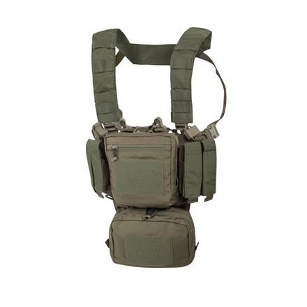 Helikon Training Mini Rig with Fixed Magazine Pouches, Adaptive Green/Olive Drab
