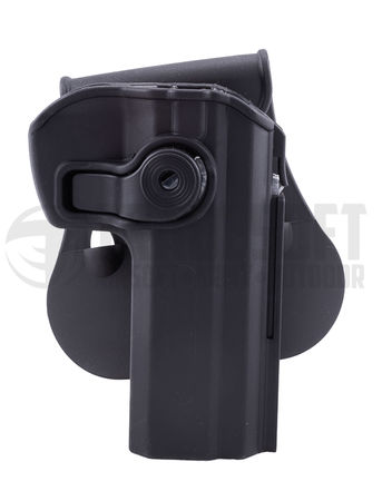 IMI Defense Hard Adjustable Holster with Paddle Platform for CZ 75