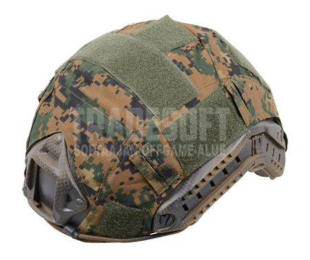 Invader Gear FAST Helmet Cover, Digital Woodland