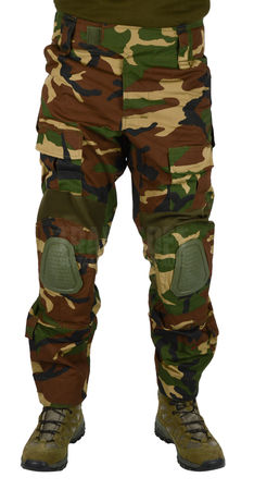 Invader Gear Predator Ripstop Military Uniform Combat Pants, Woodland