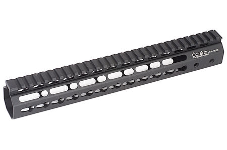 ARES Octarms Aluminum KeyMod RAS Rail for M4/M16 Series, Black (12 Inches)