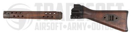 LCT Wooden Stock and Handguard for G3 Series