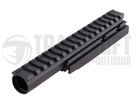 LCT Gas Tube with Rail for AK Series, 176mm
