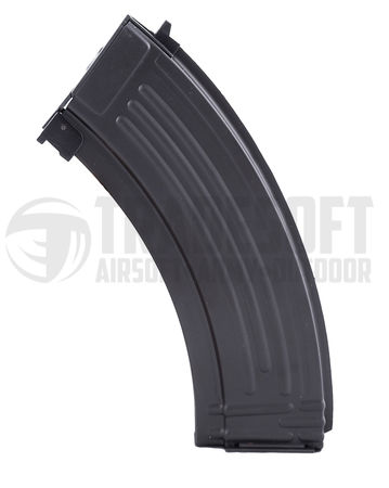 LCT Steel Mid-Cap Magazine for AK47 Series, Black (130 Rounds)