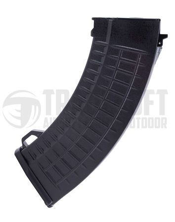 LCT Waffle Mid-Cap Magazine for AK47 Series, Black (130 Rounds)