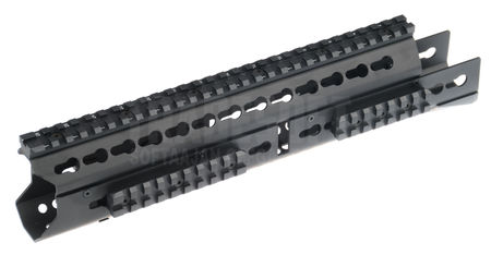 LCT Aluminum KeyMod RAS Rail for AK Series, Black (13.5 Inches)
