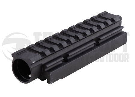 LCT Gas Tube with Rail for AK Series, 118.5mm