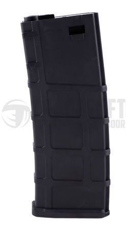 Lonex Polymer Mid-Cap Magazine for M4/M16 Series, Black (200 Rounds)