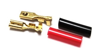 Lonex Gold-Plated Motor Connectors for Electric Guns (AEG)