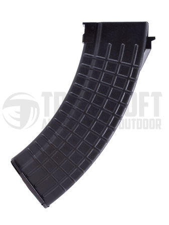 MAG Waffle Mid-Cap Magazine for AK47 Series, Black (100 Rounds)