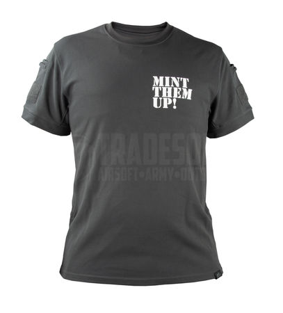 Mint Airsoft Moisture Wicking T-shirt, Shadow Grey