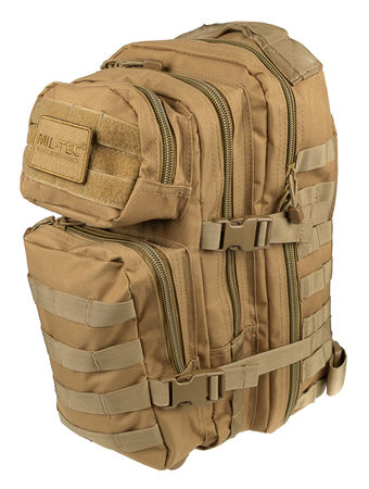 Mil-Tec US Assault Pack SM Backpack, Coyote Brown