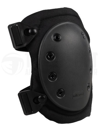 Mil-Tec Knee Pads with Quick-Release Buckles, Black