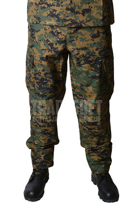 Mil-Tec ACU Ripstop Military Uniform Pants, Digital Woodland