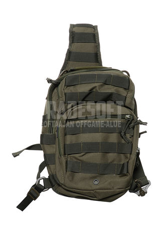 Mil-Tec Sling Bag Small - One Shoulder Backpack, OD