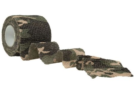 Mil-Tec Camouflage Tape, Woodland