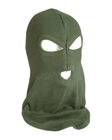 Mil-Tec Three Hole Balaclava, OD