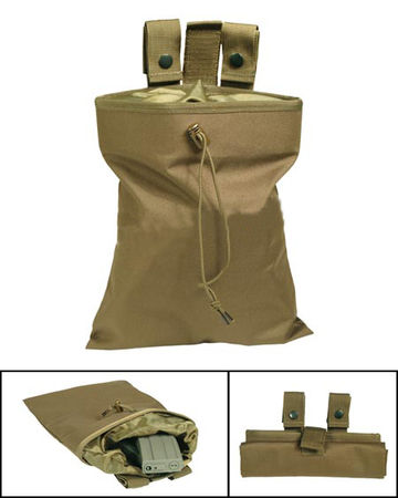 Mil-Tec Dump Pouch, Coyote Brown