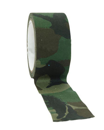 Mil-Tec Camouflage Tape 10m, Woodland