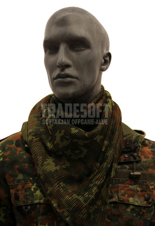 Mil-Tec Mesh Scarf 190x90cm, Camouflage Pattern