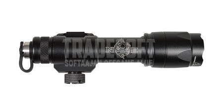 Night Evolution M600C Scout Tactical LED Flashlight, Black