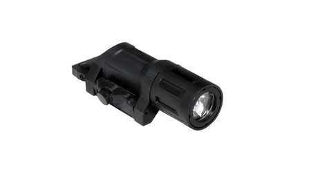 Night Evolution Tactical Weapon Mounted LED Flashlight, Black