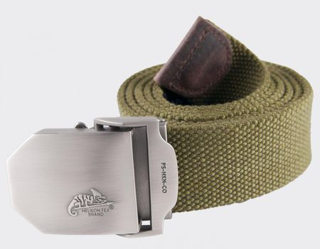 Helikon Belt with Chameleon Logo, Olive Green