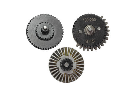 SHS 100:200 Steel Gear Set (~24:1)