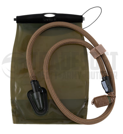 Source Kangaroo Hydration Bladder 1L with Storm Valve, Coyote Brown