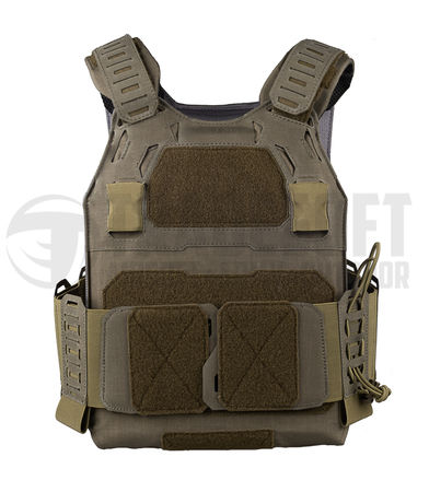 Templar's Gear CPC Plate Carrier, Low Profile, Ranger Green (Crusader Plate Carrier)