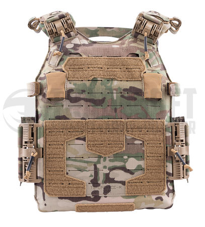 Templar's Gear CPC Plate Carrier with ROC Attachment, Multicam (Crusader Plate Carrier)