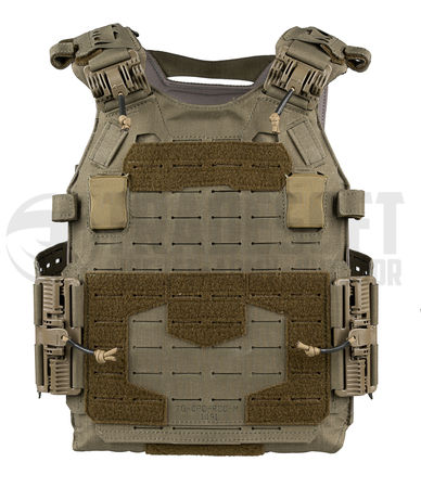 Templar's Gear CPC Plate Carrier with ROC Attachment, Ranger Green (Crusader Plate Carrier)