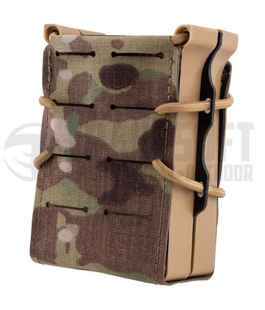 Templar's Gear FAST Single Magazine Pouch for Two Rifle Mags, Multicam