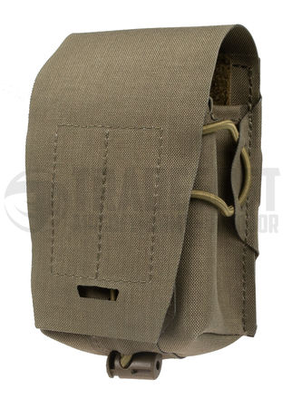 Templar's Gear Short Single Magazine Pouch for Two FAL/G3/M14/SR25 Mags Gen. 3, Ranger Green