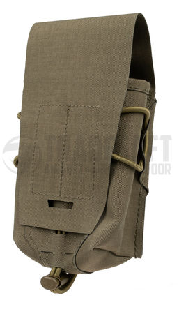 Templar's Gear Long Single Magazine Pouch for Two FAL/G3/M14/SR25 Mags Gen. 3, Ranger Green