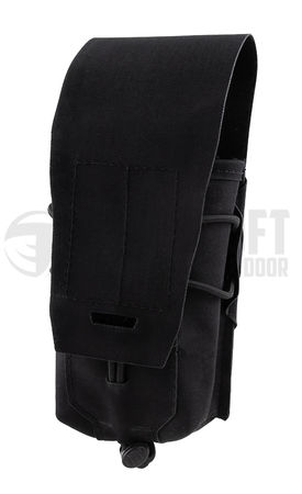 Templar's Gear Single Magazine Pouch for Two AK Mags Gen. 3, Black