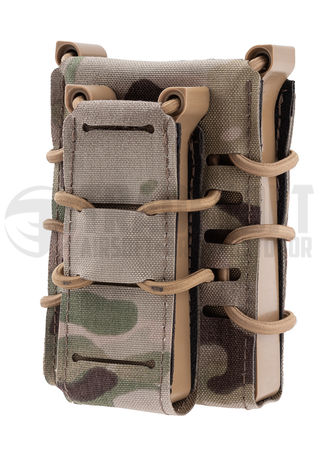 Templar's Gear FAST Single Kangaroo Magazine Pouch for Two Mags, Multicam (1x Rifle, 1x Pistol)