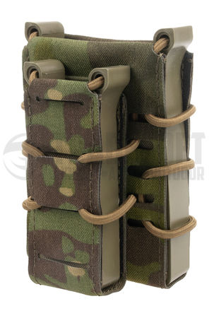 Templar's Gear FAST Single Kangaroo Magazine Pouch for Two Mags, Multicam Tropic (1x Rifle, 1x Pistol)