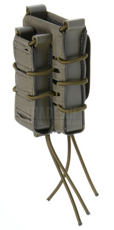 Templar's Gear FAST Single Kangaroo Magazine Pouch for Two Mags, Ranger Green (1x Rifle, 1x Pistol)